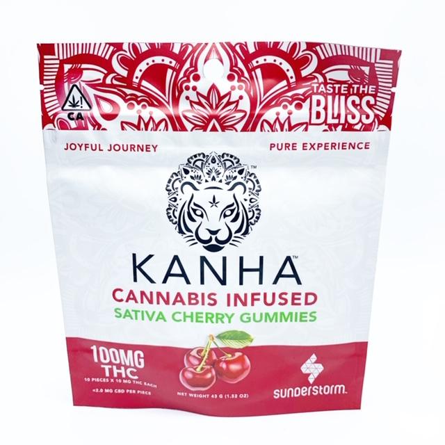 Kanha: Cherry Gummies 100mg
