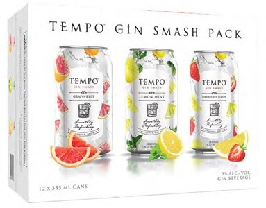Mike's Beverage Company 12C Tempo Gin Smash 4260ml
