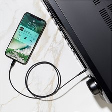 3' Belkin Lightning to 3.5mm Aux Cable