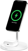 Belkin Boost Charge Pro 2 In 1 Magsafe Wireless Charging Stand 15w