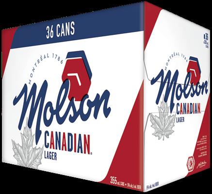 Molson Breweries 36C Canadian 12780ml