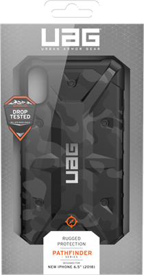 timeless design 5e947 20c7f UAG iPhone XS MAX Pathfinder Camo Case Price and Features