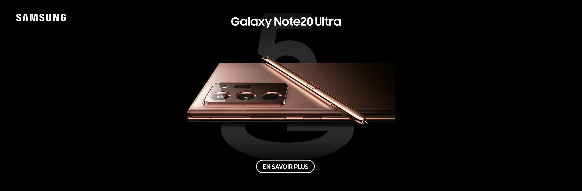 Samsung Galaxy Note20 Ultra Maintenant disponible