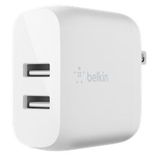 Belkin Dual Port Usb A 24w Wall Charger