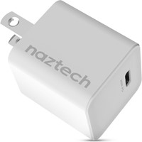 Naztech - 20W Mini White USB-C PD Wall Charger Hub