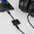 Naztech Black USB-C & 3.5mm Audio + Charge Adapter