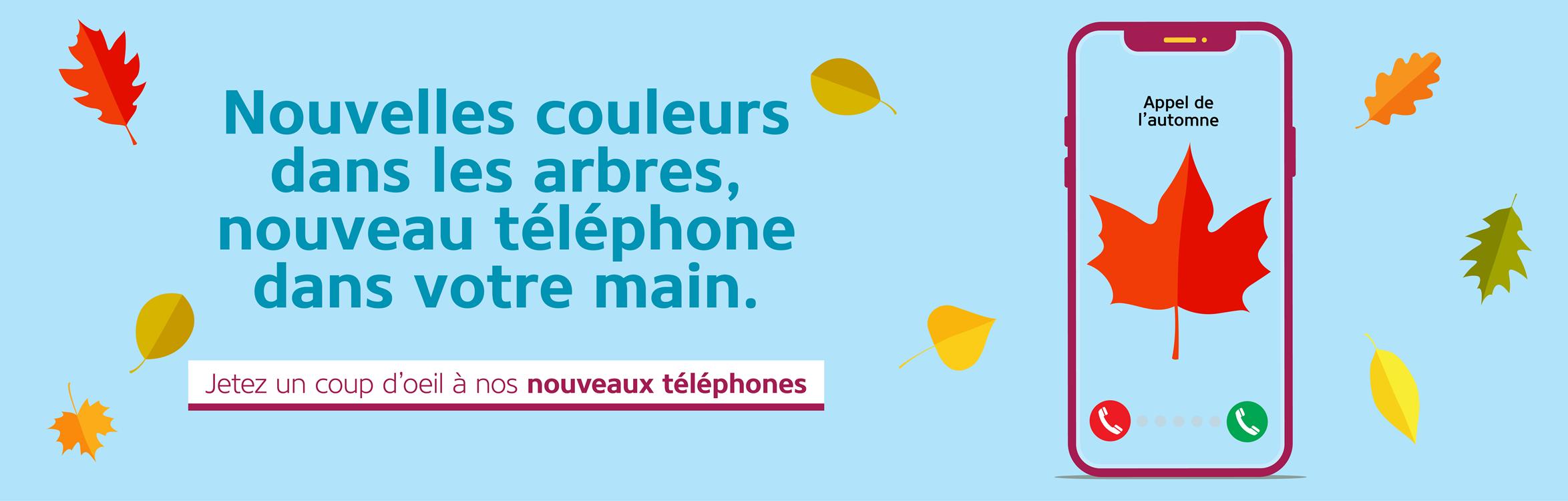 Gatez-vous avec un nouveau telephone