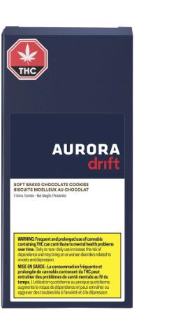 Soft Baked Chocolate Cookies - Aurora Drift  - Edibles