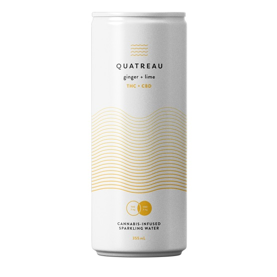 Ginger and Lime - Quatreau - Sparkling Water