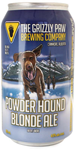 Grizzly Paw Brewing Company Grizzly Paw Powder Hound Blond
