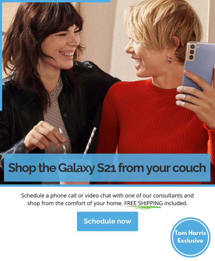 Shop from your couch Schedule and appointment