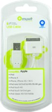 Muvit USB to 30pin Cable
