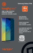 Ventev Samsung S10E toughglass Screen Protector