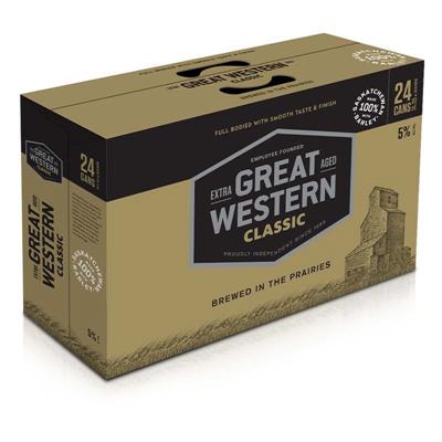 Great Western Brewing Company 24C Great Western Classic 8520ml