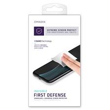 Qmadix Invisible First-Defense Nano-Glass Universal Screen Protector