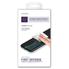 Qmadix Invisible First-Defense Nano-Glass Universal Screen Protector