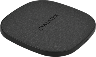 Qmadix - Quick Charge 3.0 Wireless Charging Pad 10w With Wall Charger