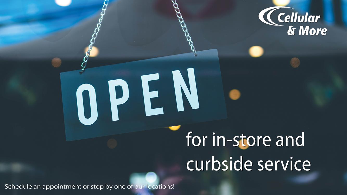 We offer curbside service