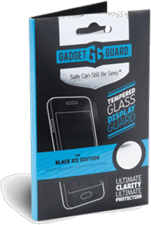 Gadget Guard Motorola Droid Maxx 2 Black Ice Edition Tempered Glass Screen Guard