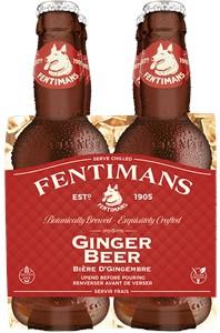 Inform Brokerage Inc Fentimans Traditional Ginger Beer 4-pack 800ml