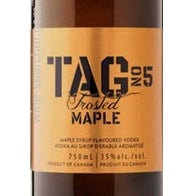 Decanter Wine & Spirits Tag Frosted Maple 750ml