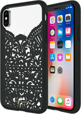 Kate Spade iPhone XS/X Lace Cage Case