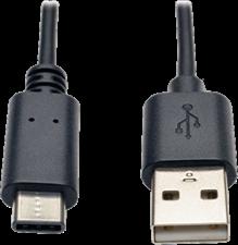 Tripp Lite USB 2.0 Hi-Speed USB-A to USB-C Cable (M/M)