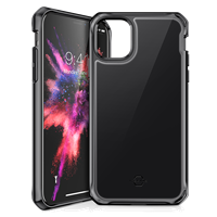 ITSKINS iPhone 11 Pro Hybrid Glass Lridium Case