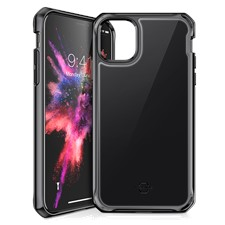 ITSKINS iPhone 11 Pro Hybrid Glass Lridium Case