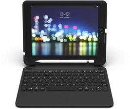 Zagg iPad 9.7 Slim Book Go Bluetooth Keyboard and Case