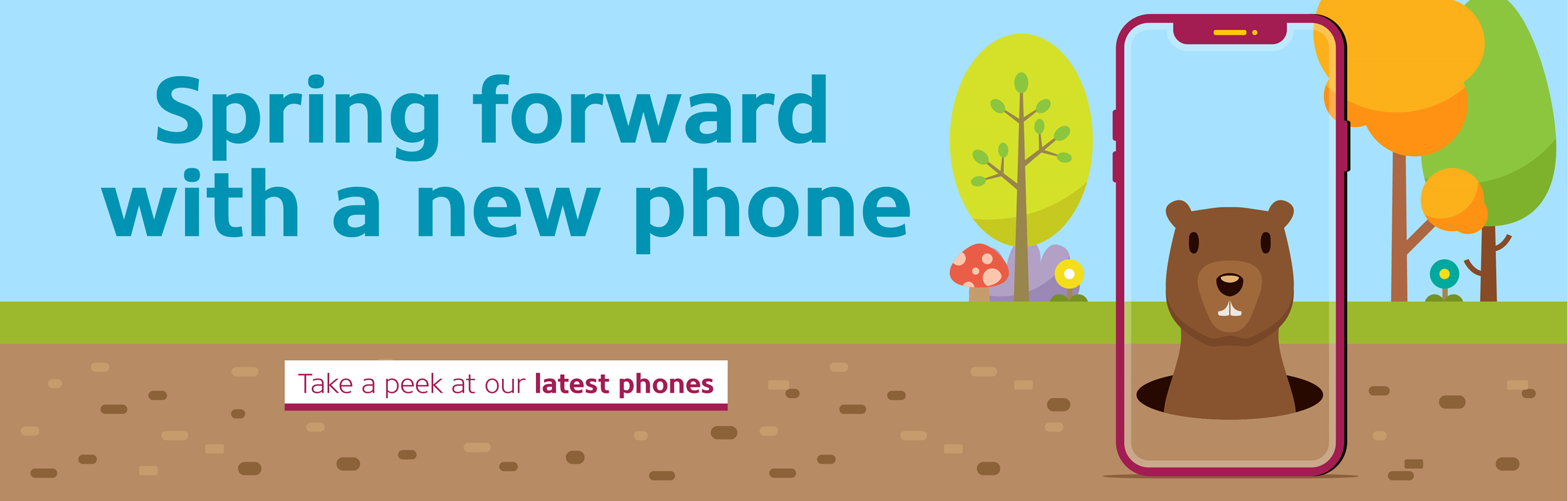 Spring forward with a new phone