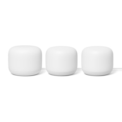 Google Nest White WiFi Router + 2 Nest WiFi Points (3 PK)