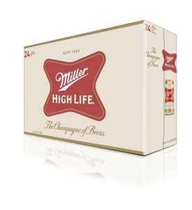 Molson Breweries 24C Miller High Life 8520ml