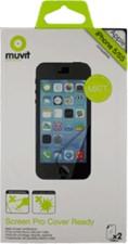 Muvit Apple iPhone 5/5c/5s Cover Ready ScreenProtector (2pk)