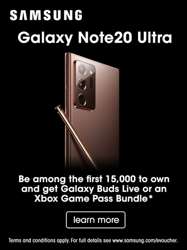 Free Galaxy Buds Live or Xbox Game Pass Bundle with Pre-Order of an Samsung Galaxy Note 20 Ultra!