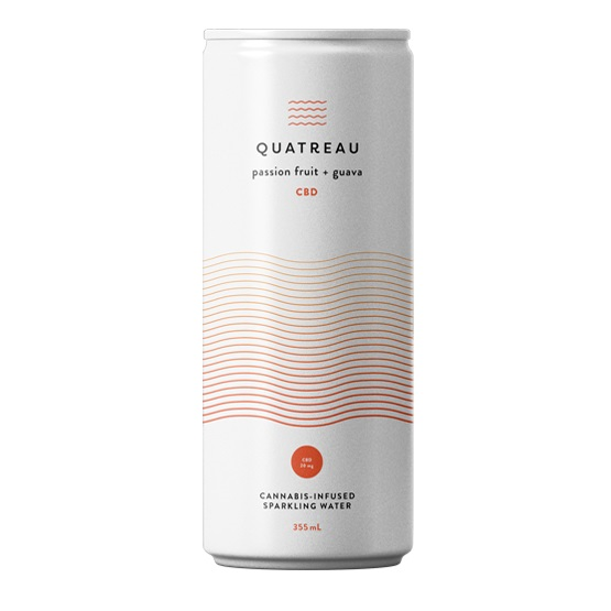 Passionfruit and Guava - Quatreau - Sparkling Water