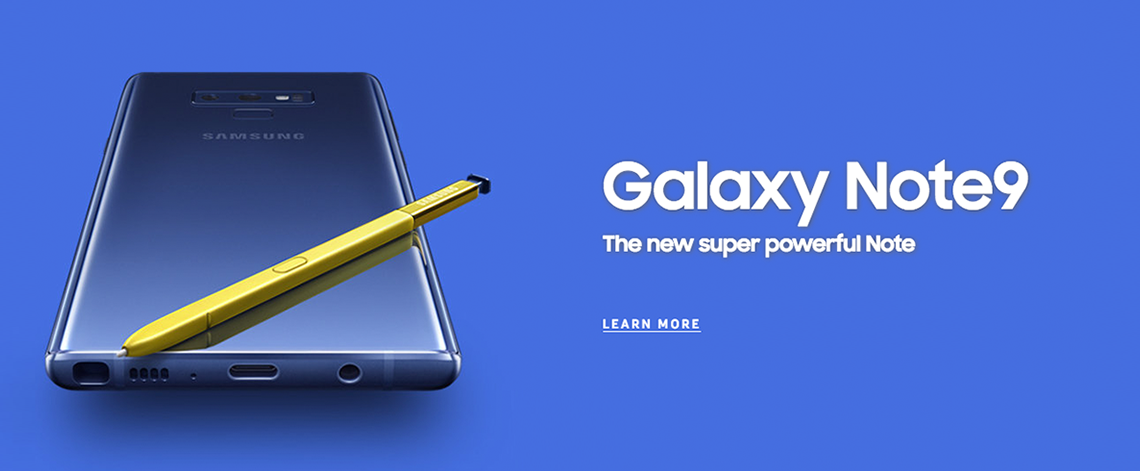 Bell Samsung Galaxy Note 9