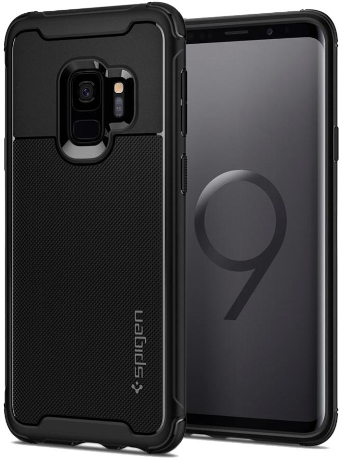 Galaxy S9 Rugged Armor Urban Case - Black