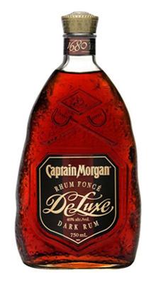 Diageo Canada Captain Morgan Deluxe Dark 750ml