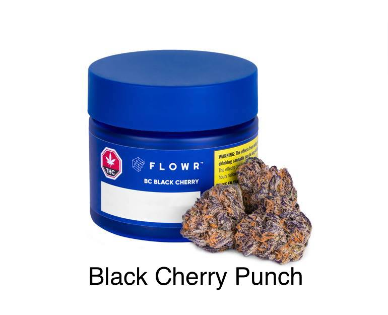 Flowr - BC Black Cherry 3.5g Dried Flower Image