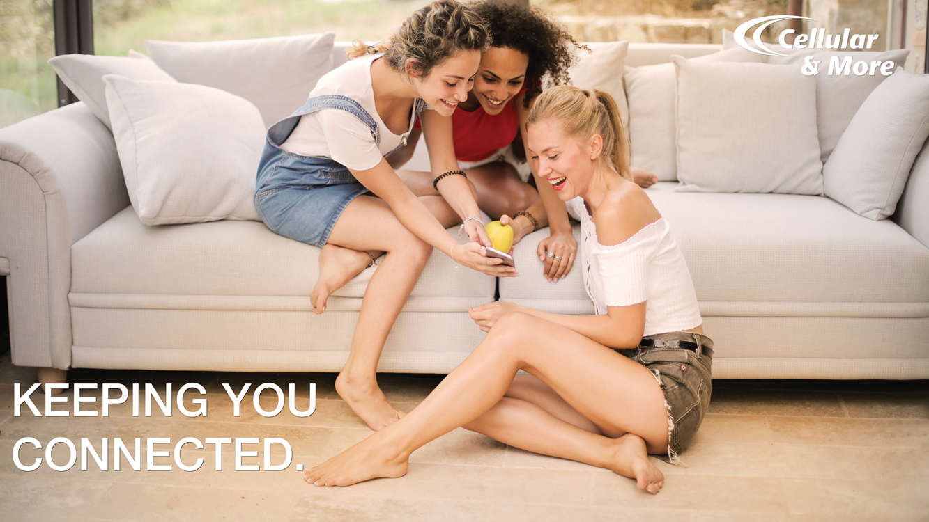Keeping you connected to friends with the latest technology.