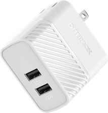 OtterBox Premium Dual Usb A Port Wall Charger 24w