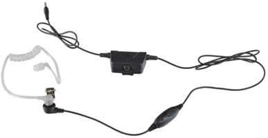 Milicom Premium Surveillance Acoustic Tube Headset TRBO