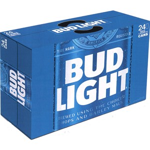 Labatt Breweries 24C Bud Light Cooler Bag 8520ml