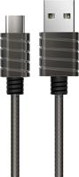 iWalk Iwalk - Twister Steel Metallic Type A To Type C Cable 6.5ft