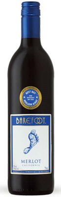 E & J Gallo Barefoot Cellars Merlot 750ml