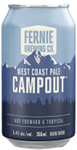 Set The Bar Fernie Campout West Coast Pale Ale 2130ml