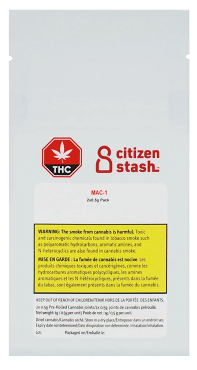 MAC 1 - Citizen Stash - Pre-Roll