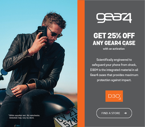 Get 25% off any Gear4 Case