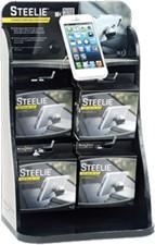 Nite Ize Steelie Car Mount Kit Interactive Merchandising Display - Contains 12 Car Mount Units